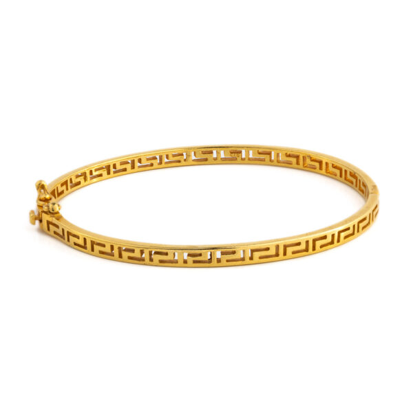 Greek Key Meander Bracelet