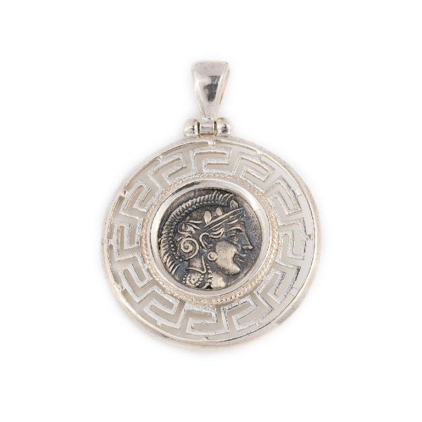 Byzantine (300-1400 Ad) Coins: Ancient Bizantine Silver Coin Pendant Choice Materials